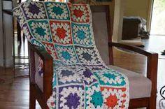 Color Burst Afghan
