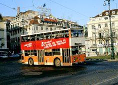 Double Decker Bus, Bus Coach, San Fransisco, Coaches, Manila, Historical Photos, Lisbon, Buses, Shanghai