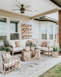 Root Outdoor Coffee Table—Arhaus - Outdoor living - Home Sweet Home Patio Design, House Design, Courtyard Design, Landscaping Design, Garden Design, Room Deco, Diy Terrasse, Outdoor Coffee Tables, Diy Patio