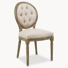 St James Button Back Dining Chair – Allissias Attic & Vintage French Style