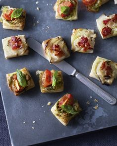 Need a cheap canape idea that looks professional but takes minutes? These puff pastry bites are all you need.