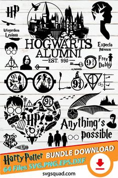 Harry Potter Decal, Harry Potter Magic, Harry Potter Shirts, Diy Vinyl Projects, Sewing Projects, Harry Potter Silhouette, Potter School, Harry Potter Classroom, Harry Potter Printables