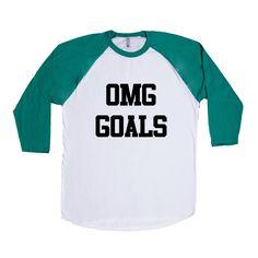 OMG Goals Achievements Goal Plans Future Internet Online Computers Meme Memes SGAL1 Baseball Longsleeve Tee
