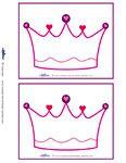 Printable Princess Birthday Cards- coolest-kid-birthday-parties.com