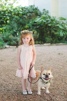 As a life-long dog lover, I need not tell you that I am assertedly pro-pets-at-weddings. Furry friends are a part of the family! They've been there for so many milestones in your relationship, so why shouldn't they be part of the big day, too?