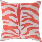 Valmiki Poly Euro Pillow, Orange