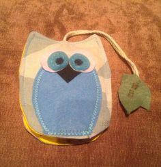 Annies DIY: RUMS: Schlüsselanhänger Schlüsseltasche Eule Owl Keychain
