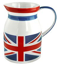 Union Jack jug, housewares, home decor, country style, british Best Of British, British Things, British Style, British Home Decor, The Dave Clark Five, Britain's Got Talent, Union Flags, British Invasion, English Style