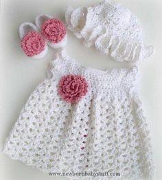 Crochet Baby Dress summer+crochet+baby+dresses...