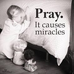 It causes miracles ~~I Love the Bible and Jesus Christ, Christian Quotes and verses. Bible Quotes, Bible Verses, Me Quotes, Scriptures, Mystic Quotes, Power Of Prayer, Prayer For A Miracle, Lord And Savior, Spiritual Inspiration