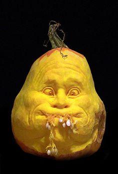 Image: The 'Burp' pumpkin (© Ray Villafane/Barcroft Media/Getty Images)