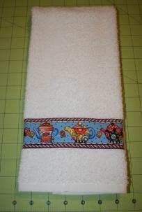 White Mary Engelbreit Hand Towel