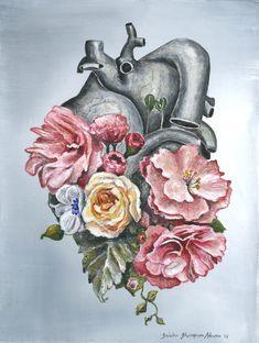 Floral Anatomy: Heart by Trisha Thompson Adams