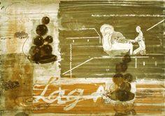 """""""Lage"""", Lichtdruckgrafik, 1994 Foto: courtesy Galerie EIGEN + ART Leipzig/Berlin und David Zwirner, New York. VG Bildkunst."""