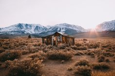 """the-gas-station: """" Inyo County by Jared Chambers """" Freedom Travel, Travel Goals, Cabins In The Woods, House In The Woods, Cabin Design, Outdoor Photography, Adventure Awaits, The Great Outdoors, Wilderness"""