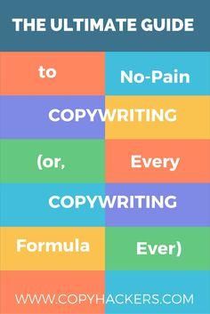 Every single copywriting formula in this ultimate guide to copywriting formulas Business Writing, Writing Jobs, Blog Writing, Creative Writing, Writing Prompts, Writing Advice, Writing Assignments, Writers Write, Copywriting