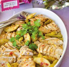 Raparperi-omenabroileria thaityyliin // Rhubarb & Apple Thai Chicken Food & Style Helena Saine-Laitinen Photo Mika Haaranen Maku 2/2011, www.maku.fi