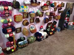 Yarn storage ideas in one place