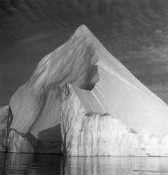 Iceberg, photo by Lynn Davis, 1988, at Diskobay, Greenland.