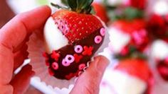 Black & White Strawberries