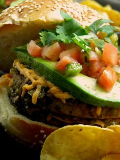 Meet The Shannons: Vegan Double Taco Burgers = A Cure for What Ails You