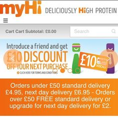 Introduce a friend a get a #discount off your next purchase. Create your account http://www.myhi.co.uk and use my code HIWF038 to get 10% off your order. #myhifood #health #wellness #instagood #instahealth #theconnectorint