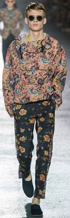 Dries Van Noten - Spring 2014