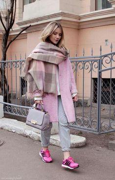 greys and pinks