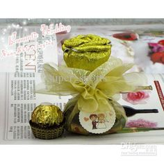 Wholesale 100Pcs/Lot Rose Wedding Favor Boxes Gift Candy box MIC FFF, Free shipping, /Piece | DHgate