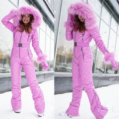 Ski Outfits, Winter Outfits, Female Fashion, Womens Fashion, Down Suit, Winter Suit, Moon Boots, Dress Me Up, Winter Boots