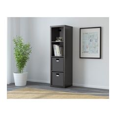 Becky Higgins said this was perfect for scrapbook storage!  The Kallax from IKEA.