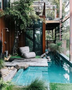 a getaway? Here are 19 of the coolest Airbnb properties in Australia. Best Airbnb Australia properties to stay in that are hidden gems.Best Airbnb Australia properties to stay in that are hidden gems. Future House, Airbnb Australia, Vic Australia, Australia Photos, Australia Funny, Australia House, Pool Designs, My Dream Home, Exterior Design
