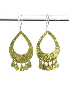 Our stunning new earrings handmade in Calcutta India! #fairtrade #women #empowerment