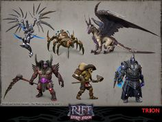 ArtStation - Various mounts, pets, and other characters/bosses, Hai Phan