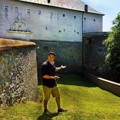 Červený Kameň Castle or the Red Stone Castle in Slovakia. It has the largest cellar in ALL of Europe, the deepest well in ALL of Slovakia and was the BEST fortified castle of the century Cellar, 16th Century, Survival, Castle, Europe, Explore, Adventure, Stone, Places
