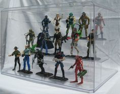 Display Case for Action Figures & Collectibles