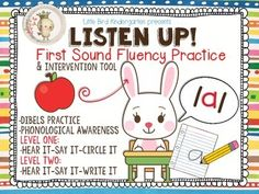 """""""This is a WONDERFUL resource for my Kinders to boost their DIBELS scores! I use this during my RTI time and it's just perfect! Thanks for a great product!"""" ~ Stephanie"""