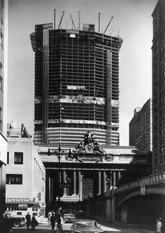 Park Avenue and 41st street facing north, 1962