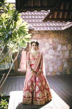 Bridal Wear - The Charming Bride! Photos, Hindu Culture, Beige Color, Destination Wedding, Make Up, Bridal Makeup pictures, images, vendor credits - The Photo Diary, Rohit Bal, Sabyasachi Couture Pvt Ltd, Shantanu and Nikhil - 6637.