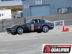 Mark Frazier and his 1971 Datsun 240Z qualified for the 2014 #OUSCI at the #DriveUSCA event at @Mazda Raceway Laguna Seca & are headed to Las Vegas and the 2014 SEMA Show!