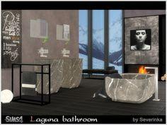 Sims by Severinka: Laguna Bathroom • Sims 4 Downloads