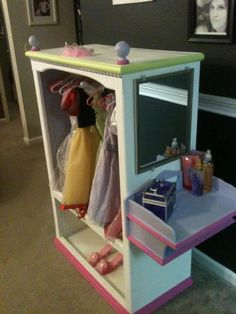 Mattie's Princess Wardrobe Closet.