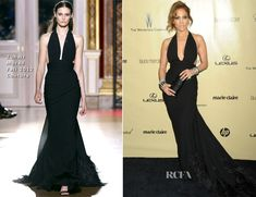 Jennifer Lopez In Zuhair Murad Couture - The Weinstein Company's 2013 Golden Globe Awards After Party