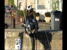 Lolo tombe dans le Port de Saint Martin en Ré en Yamaha FJR 1300
