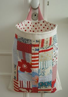 Handy Catch-All Bag - Quilting Digest
