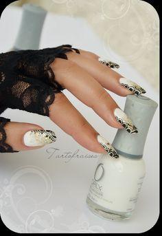* Tartofraises : Nail Art sur ongles naturels *