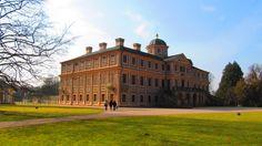 Schloss Favorite - Gartenseite