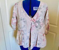 BNWT ladies New Look Floral Jacket Size 8