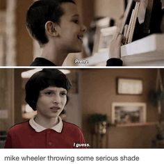 """1,364 Likes, 4 Comments - compromise (@finnbabehard) on Instagram: """"I thought this part was funny @finnwolfhardofficial @milliebobbybrown"""""""