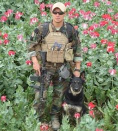 Shain Nickerson and MWD Aja M066 - Thank You Both for Serving Our Country!